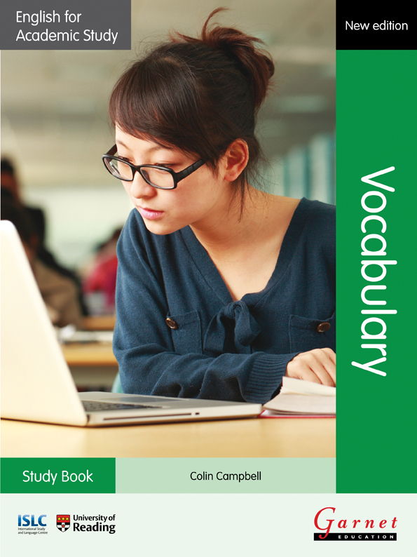 English for Academic Study: Vocabulary – Study Book