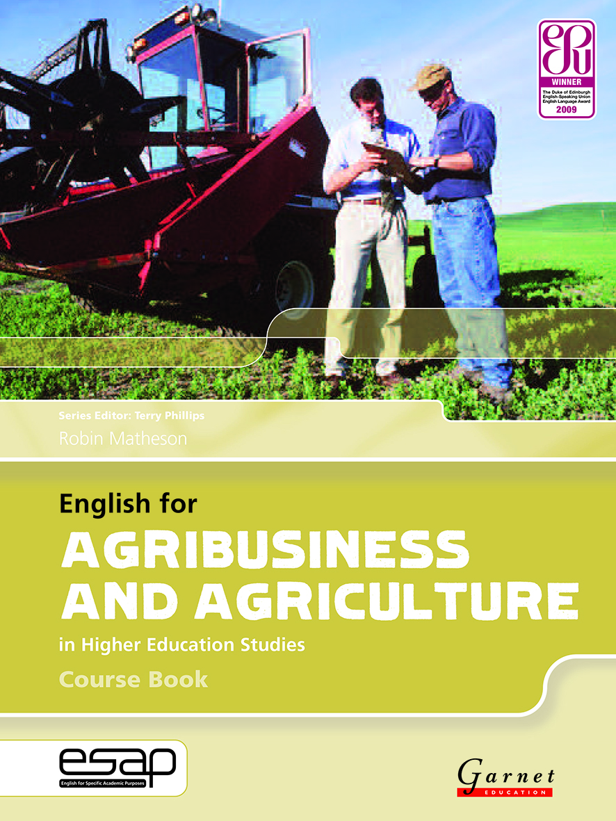 about agriculture in english