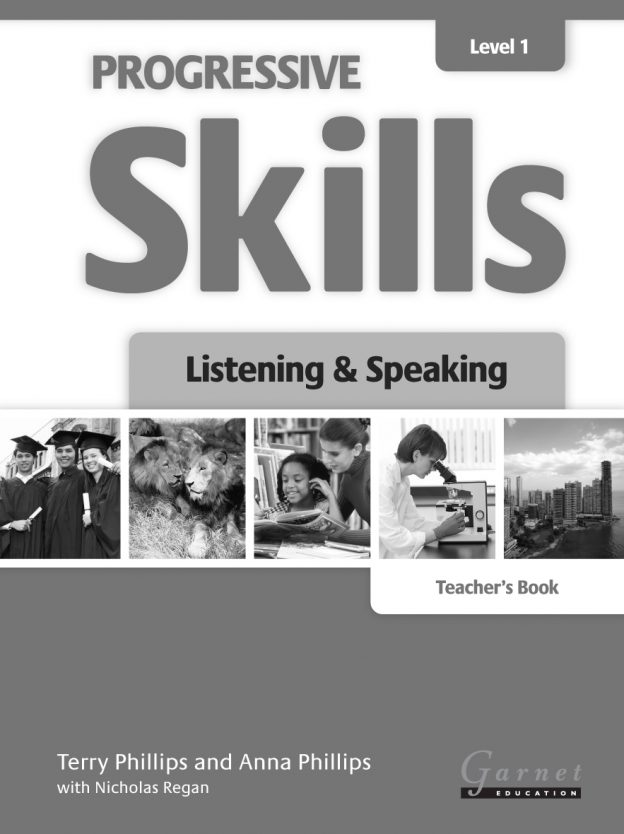 Progressive Skills 1 Listening and Speaking TB
