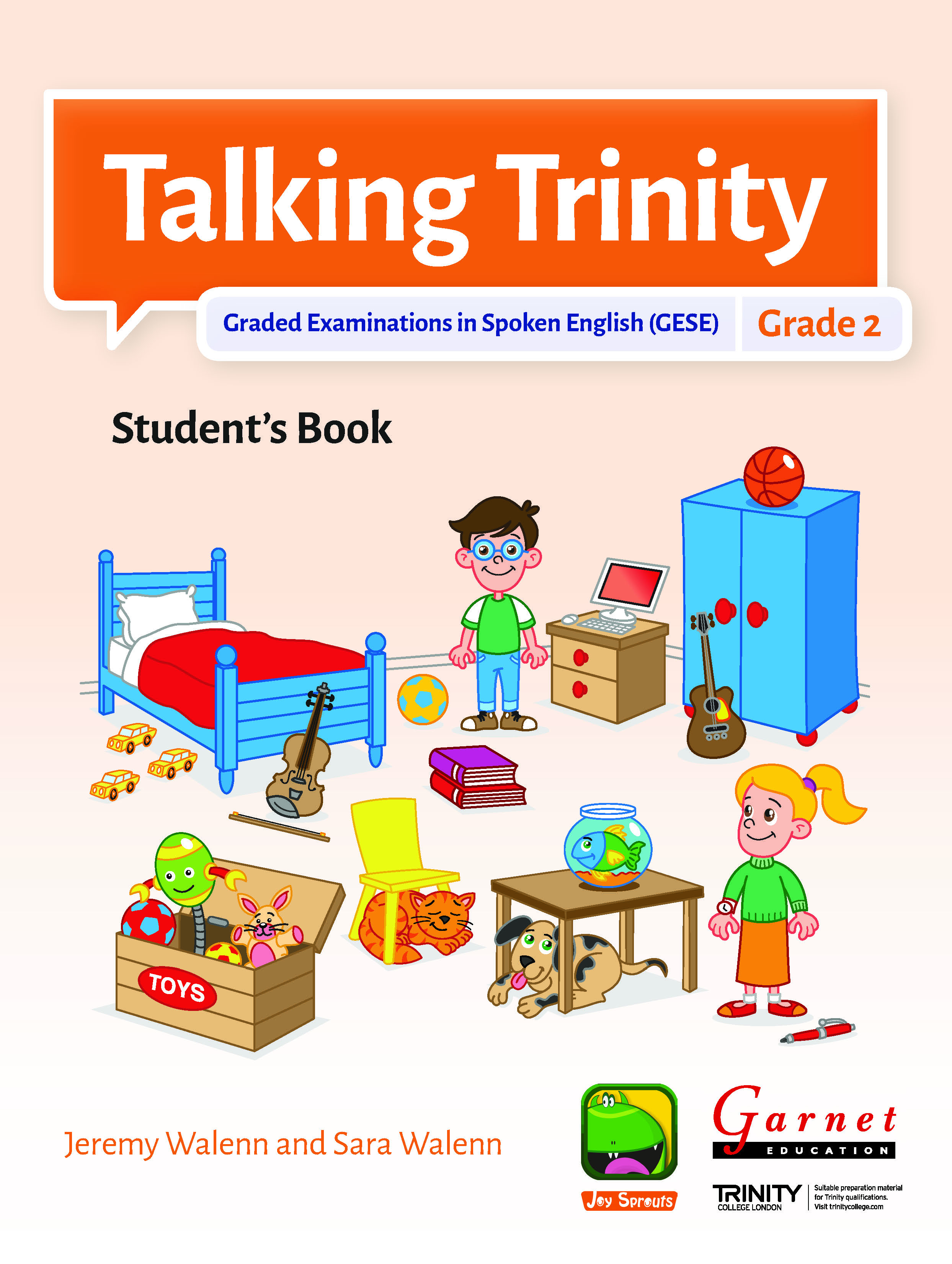 Talking Trinity 2018 Edition – GESE Grade 2 Student's Book