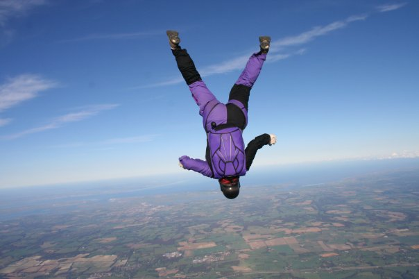 On the Job: Jane, Skydiving instructor | Garnet Education